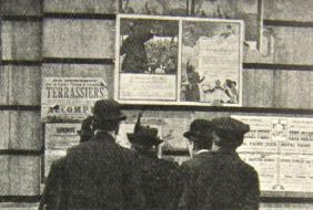 Tekstaffiches 1914-1919
